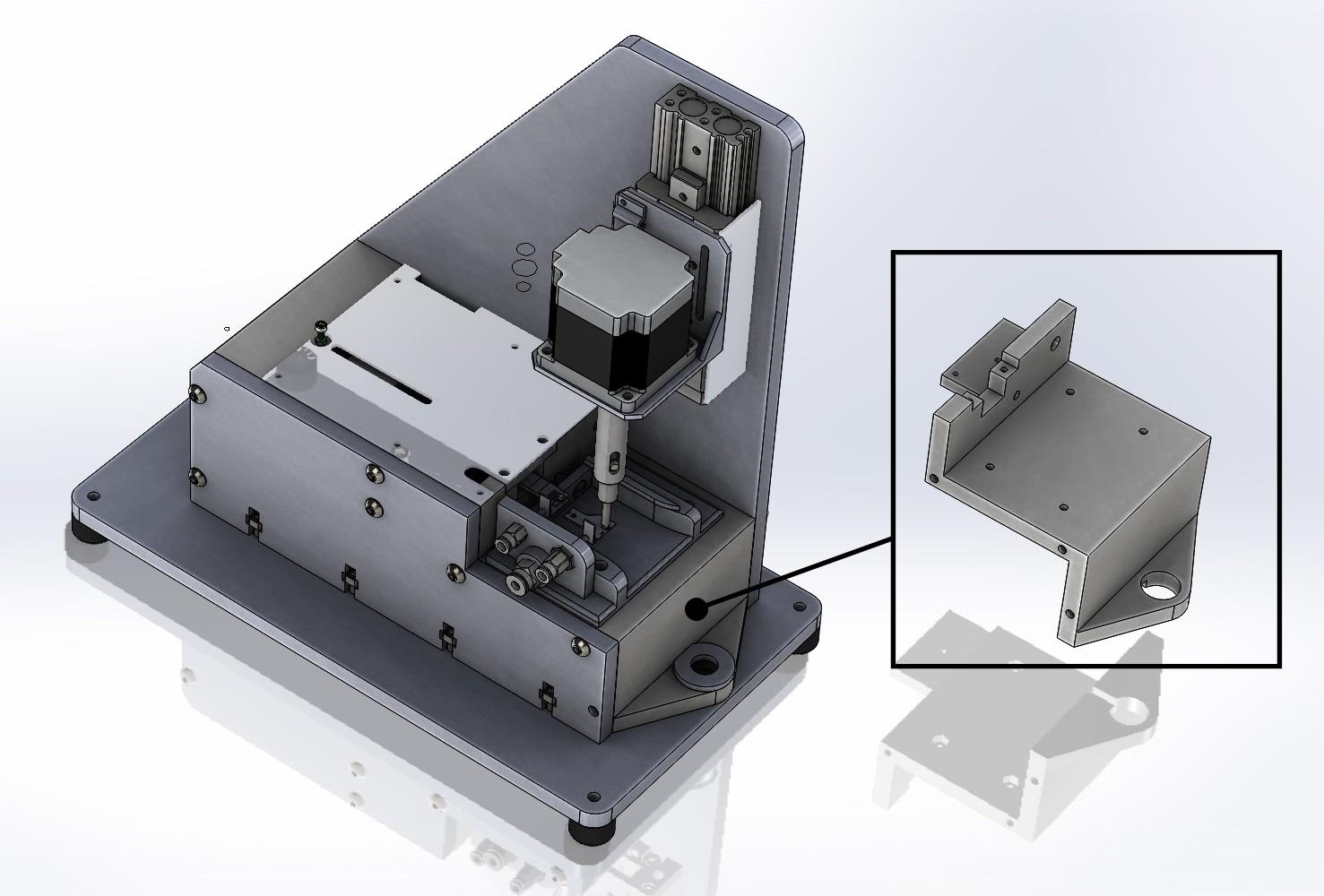 3D printed Loader assembly
