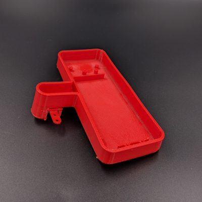 3D Printing FDM Red Rubber Case 3