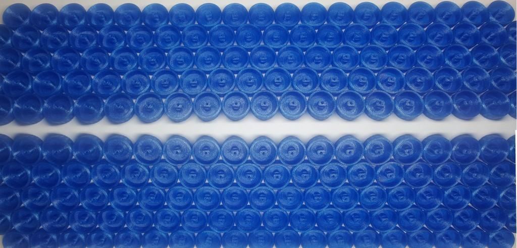 3d printed polycarbonate knobs 2x