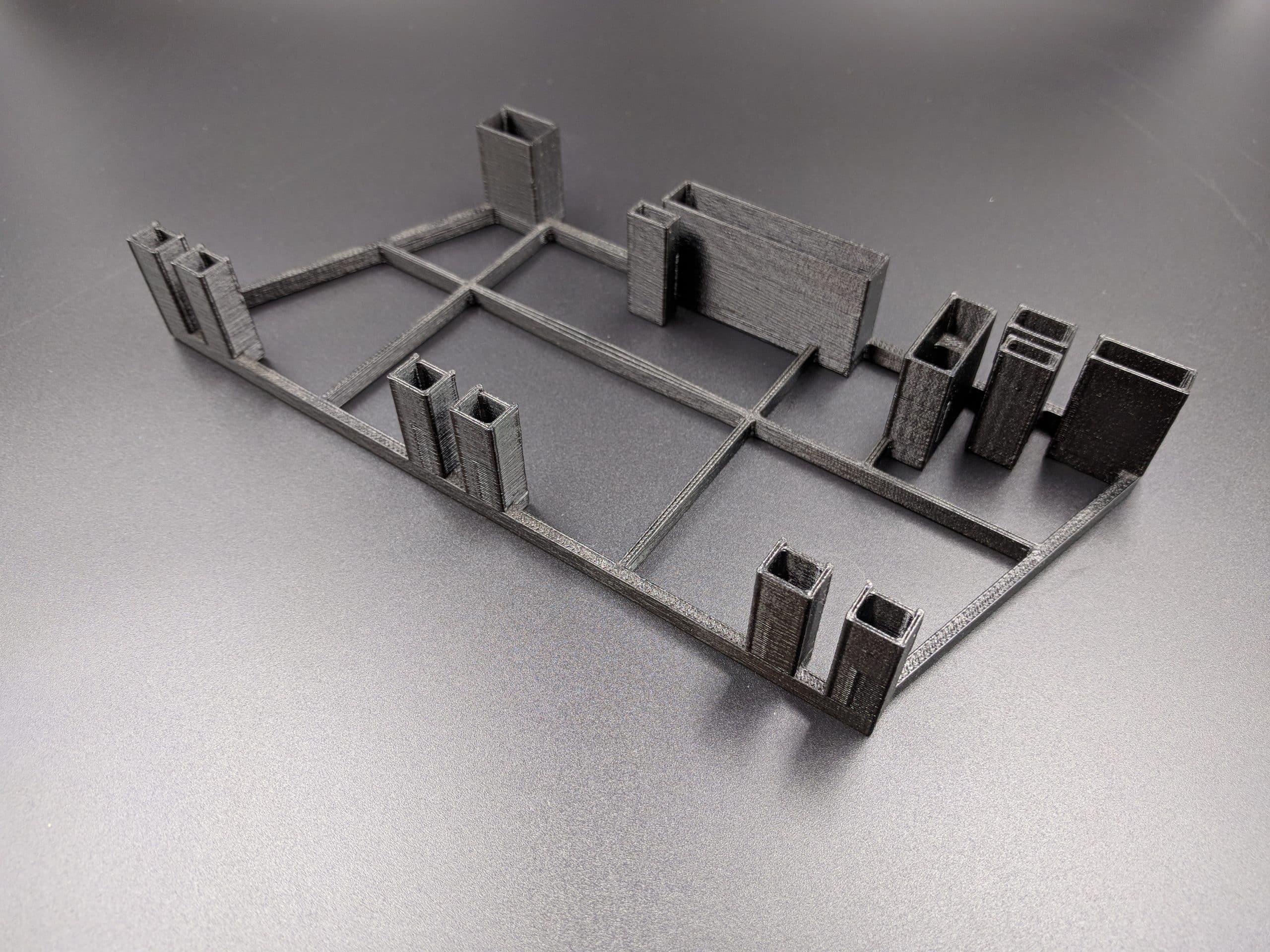 FDM print Black ESD-Safe conformal coating jig