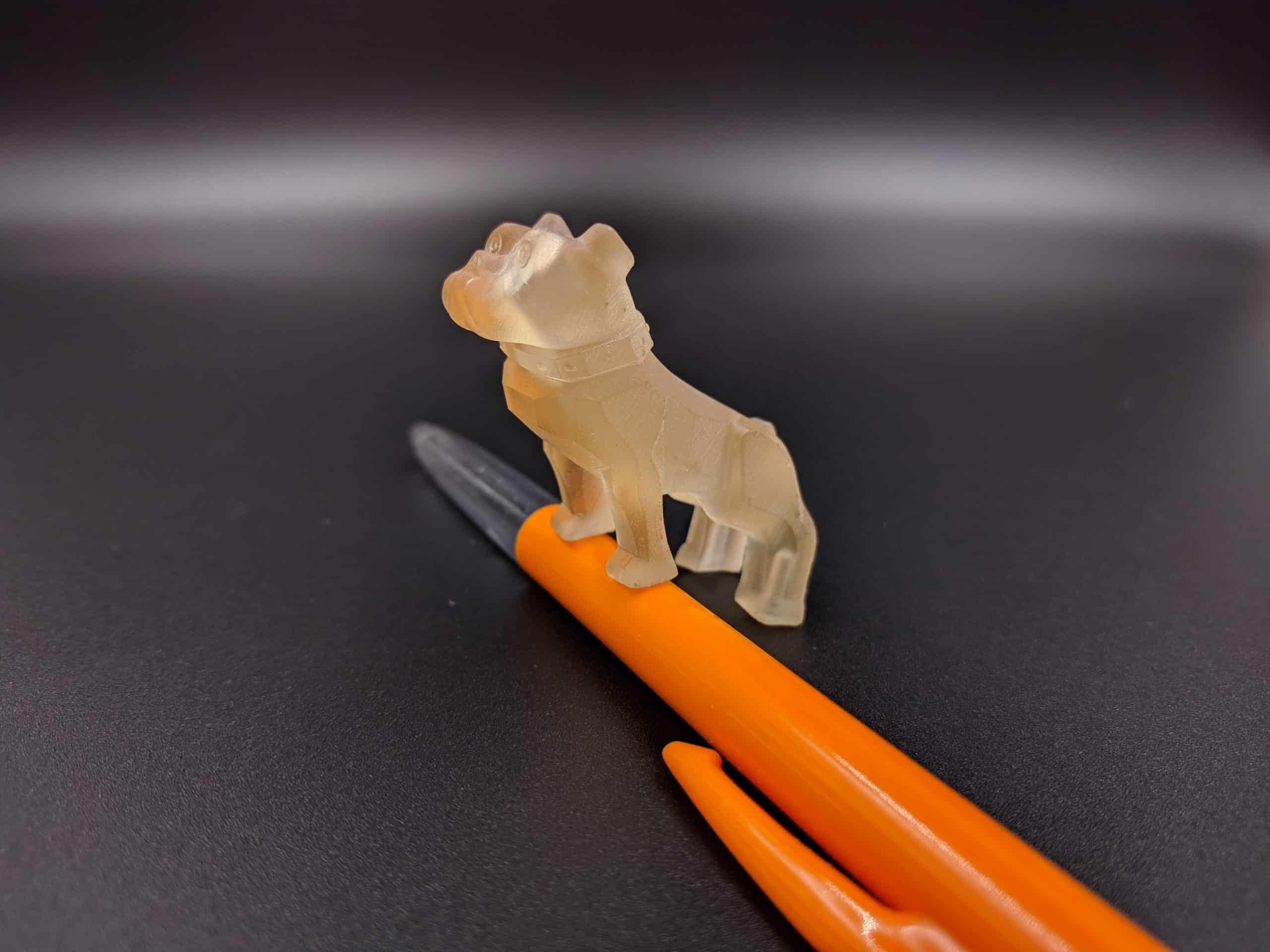 SLA print high temperature resin