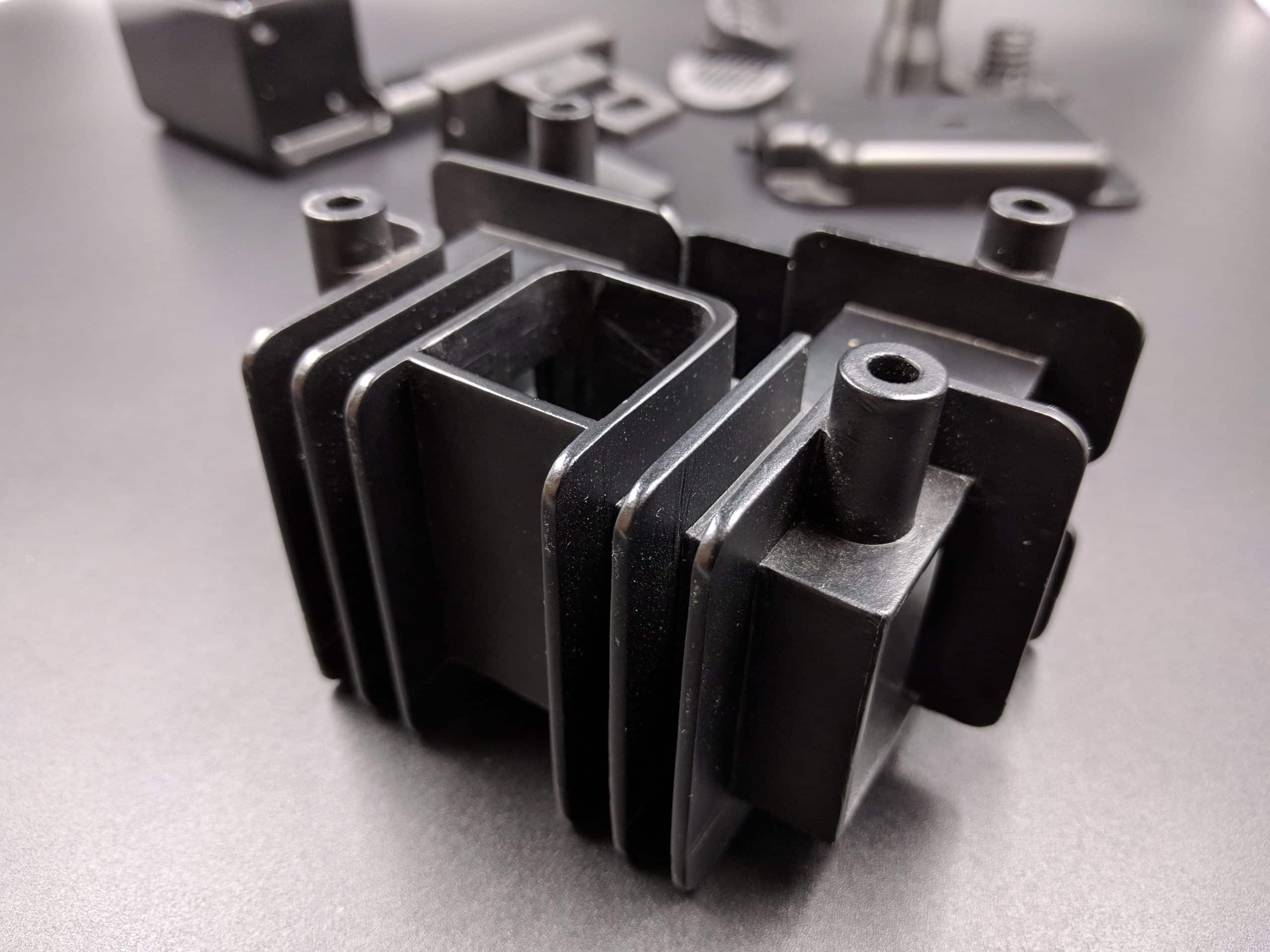 Vacuum Cast Black ABS-Like