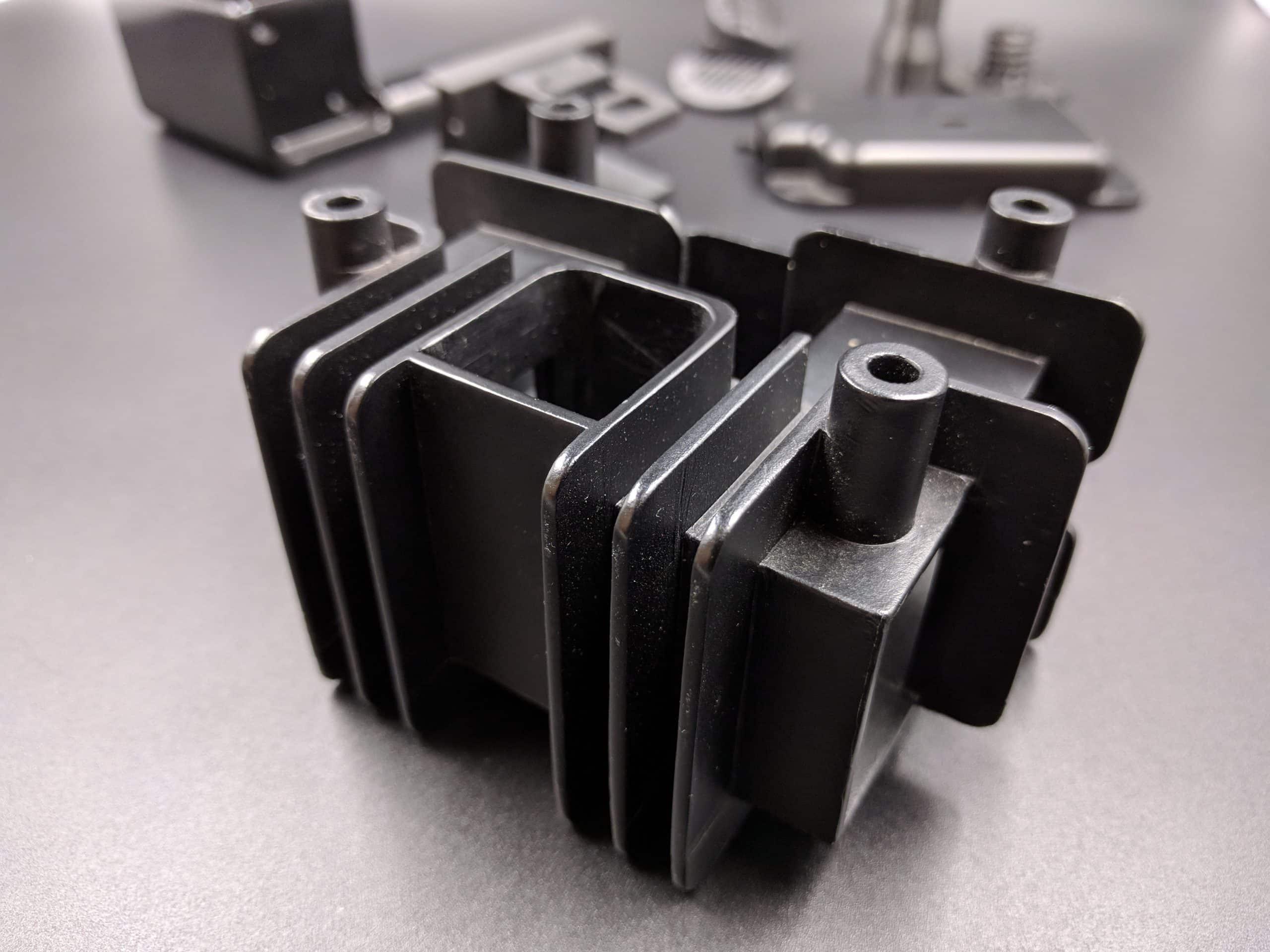 Vacuum Cast Black ABS-Like