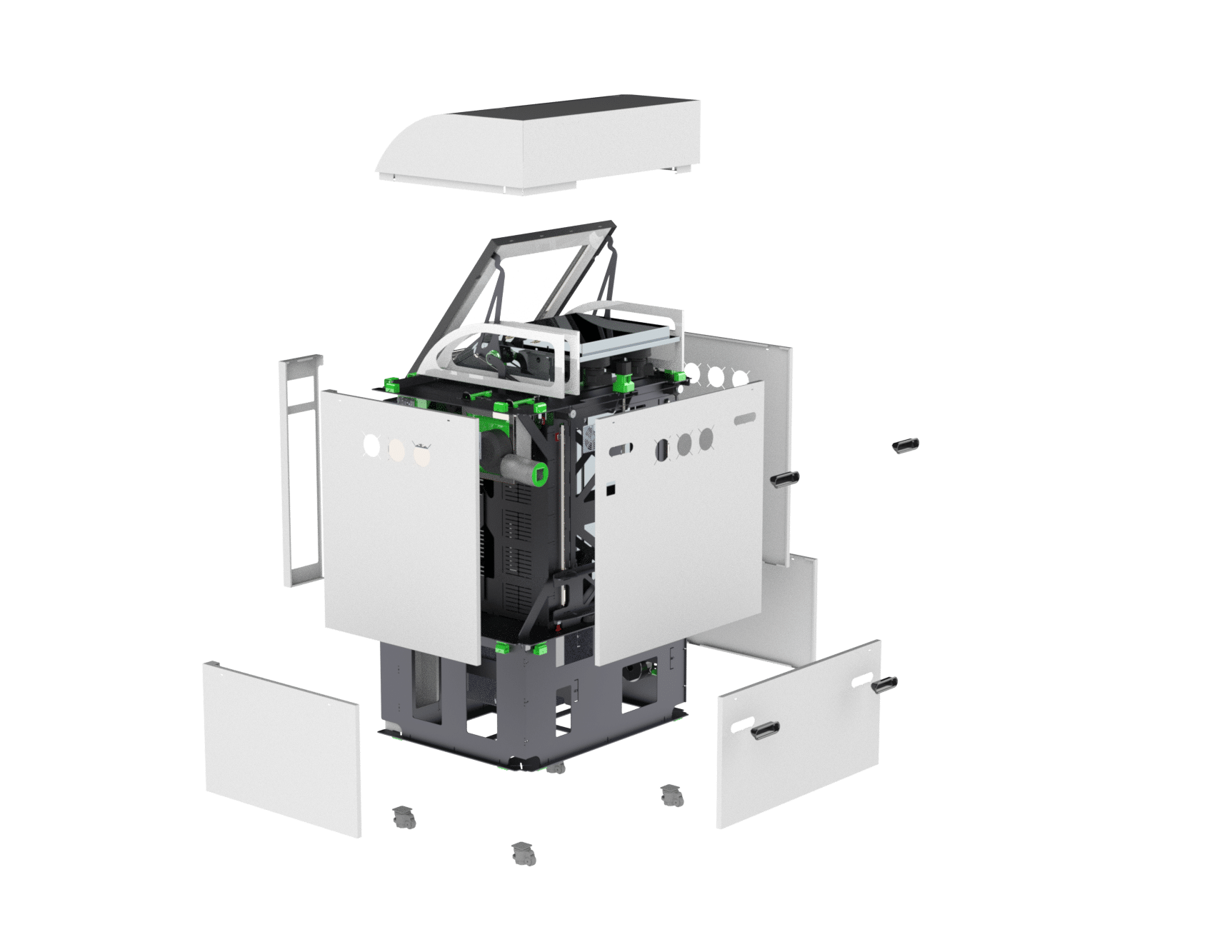 PDM Printer- exploded view