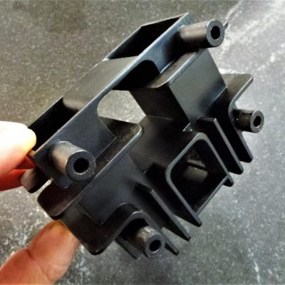 Vacuum Cast Black ABS Urethane