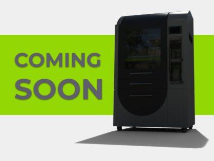 Industrial 3D printer designed & built in NZ