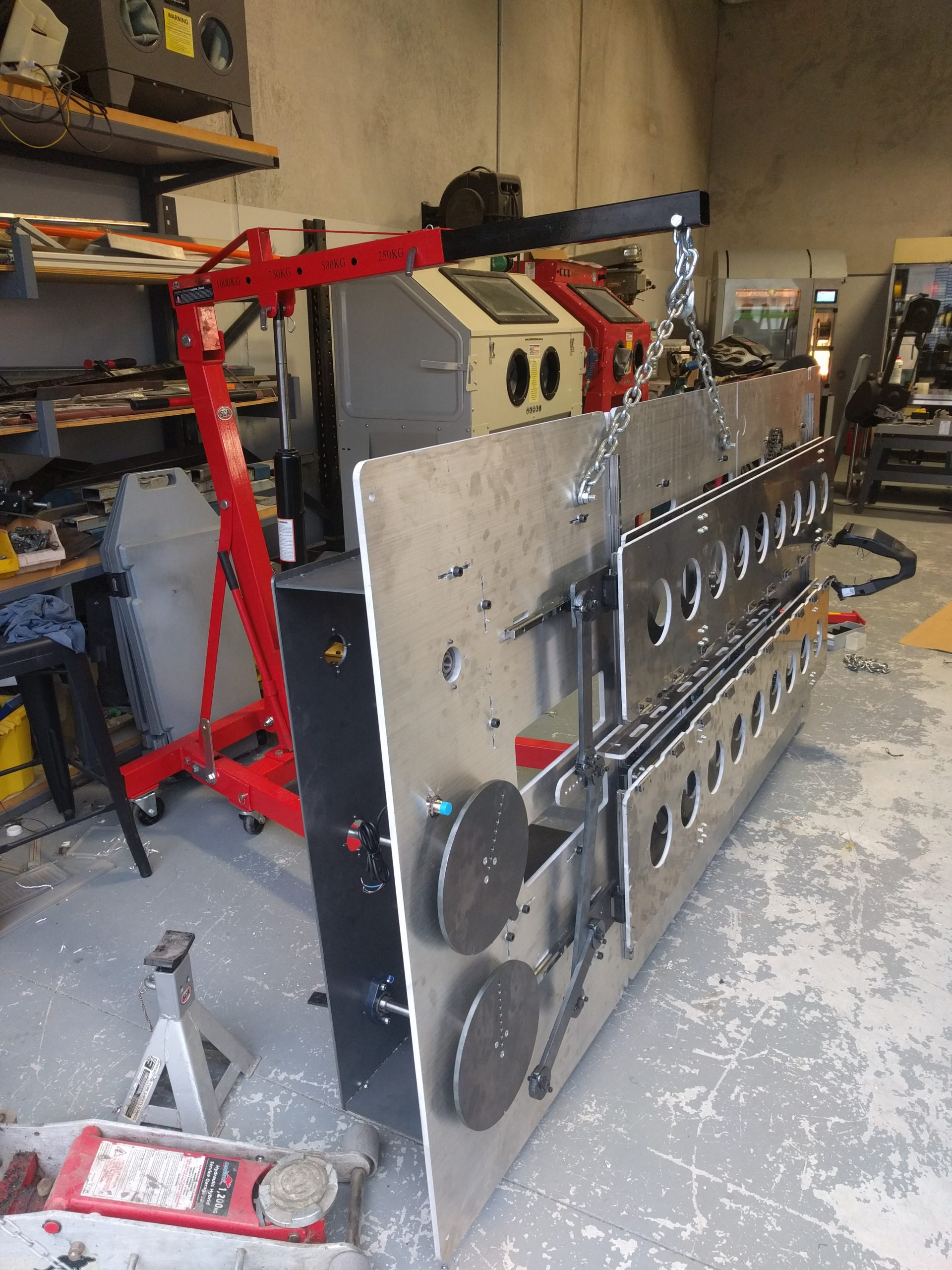 Cycle Testing Mechanim Crane