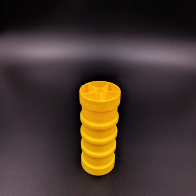 3D Printing FDM yellow ABS
